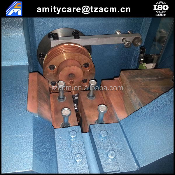 Full-automatic concrete pole PC button heading machine