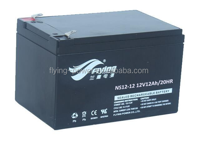 12V12AH Rechargeable Storage Battery for Portable Speaker