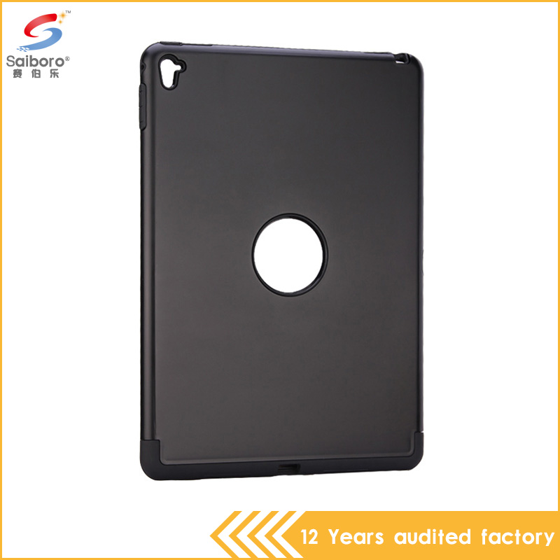 Multi-color shockproof high quality tpu pc combo armor heavy duty case for ipad