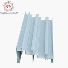 Extruded profile aluminum casement window and door