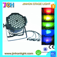 54pcs led dj lighting led par light led par can rgbaw uv led par light