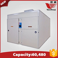 YFXF-60 wholesale assessed supplier factory price poultry incubator hatcher