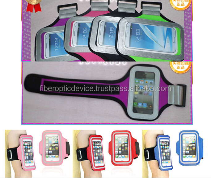 Outdoor Sports Running Wrist Pouch Mobile Cell Phone Arm Band Bag Wallet For iPhone 5S 5C 5 6 plus HTC Samsung sonly lg