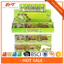 Styles vivid plastic model animal toy set for kids