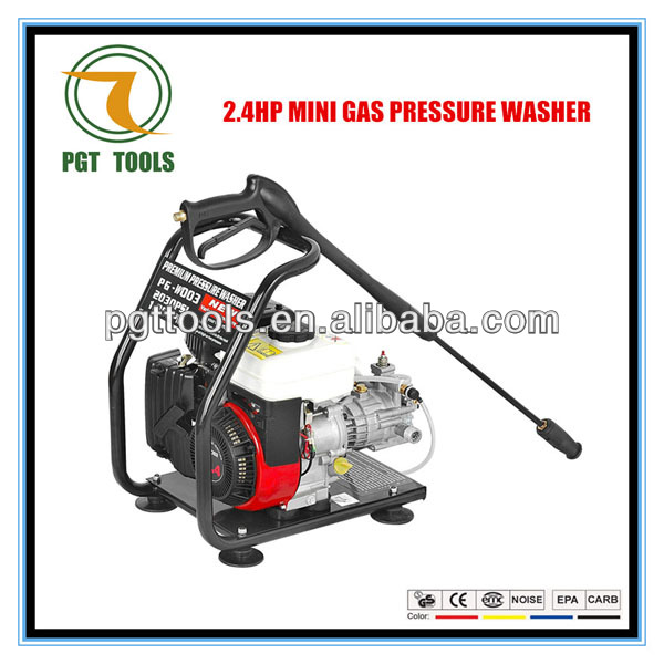2.4HP 1300PSI wash car cold weather