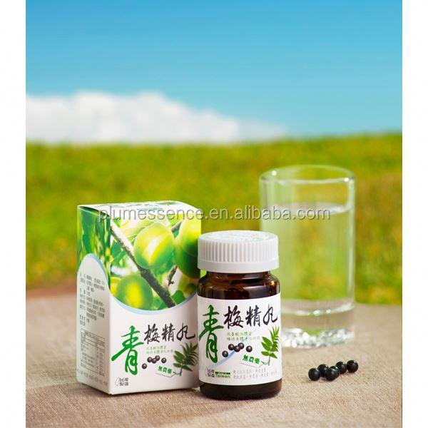 100% Natural Organic food, Plum Essence Pills, Taiwan supplier, Vegan Vegetarian, Body Detox