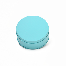Tin can sizes 10(diameter)x4cm metal candy containers large round tin containers with different color Gold/blue/pink/red option