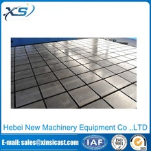 high quality cast iron t-slotted hole welding table