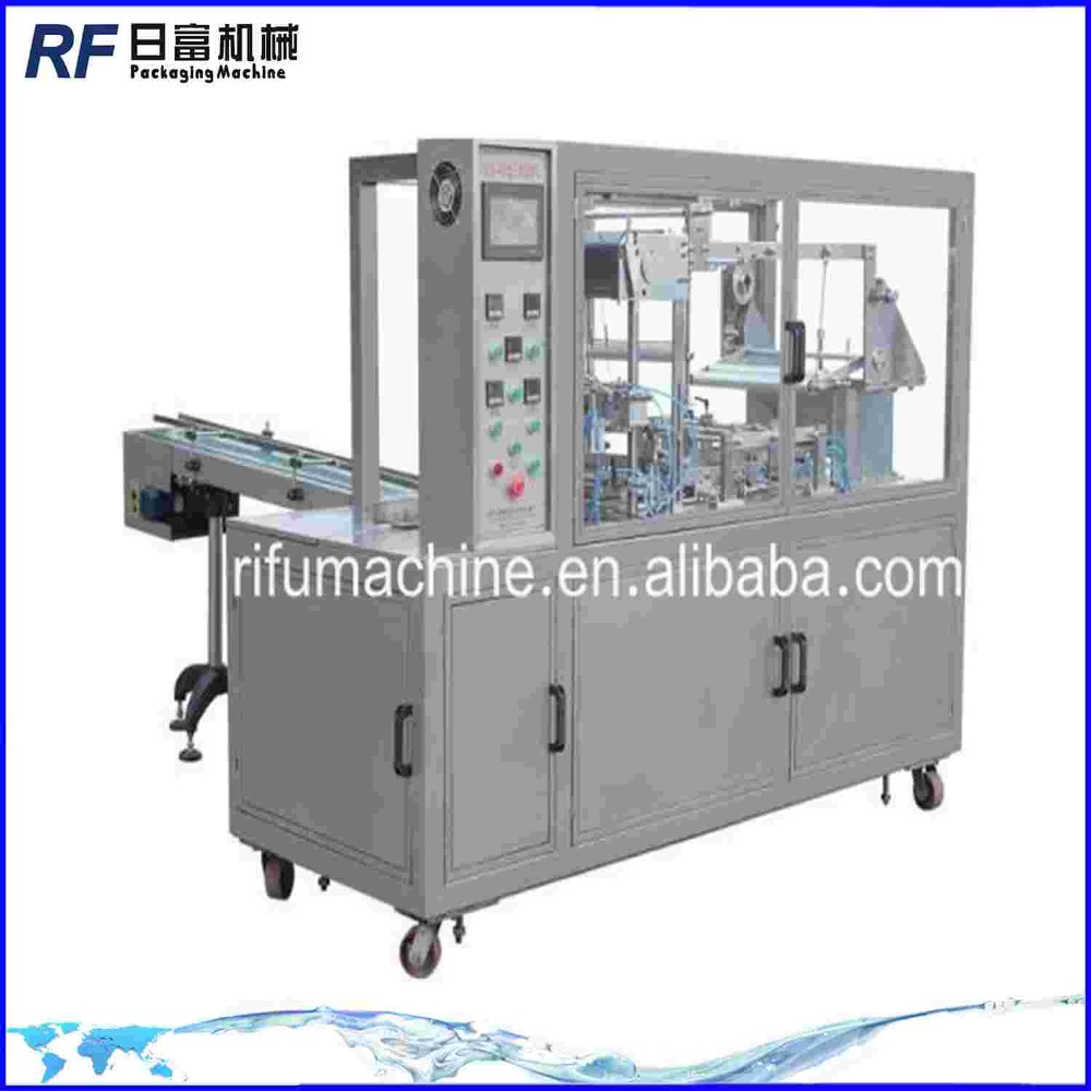 Manufacturer BTB-400 CE certificate Bopp cellophane film box over wrapping machine for perfume boxes