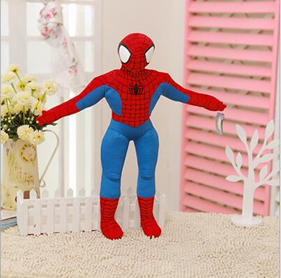 1pc 30cm Spiderman Plush Toys Cartoon Spider-man Plush Doll for Boys Kids Doll Action Figure Collectible Model Toys