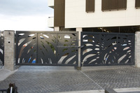 modern gates and fences design