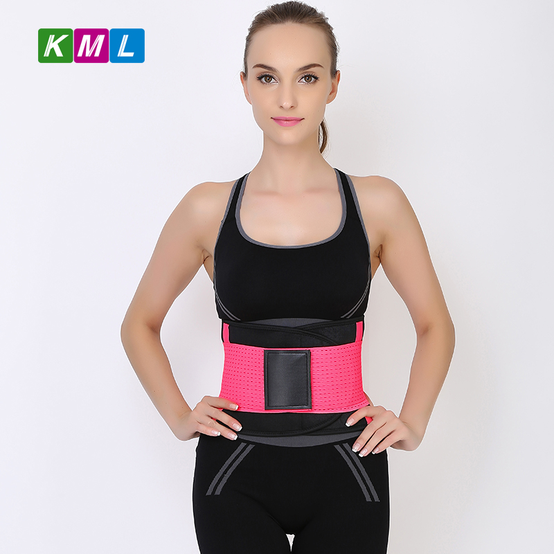 High-elastic back support lumbar belt for exercise