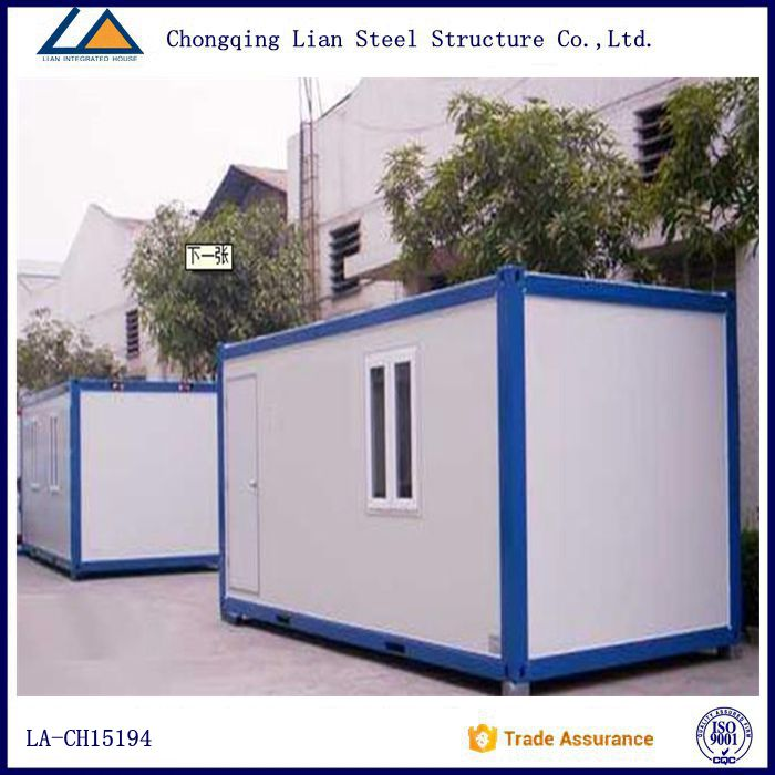 Mobile light steel ablution container