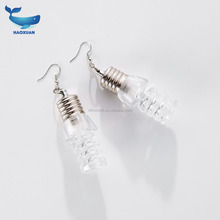 MSSP0045 HAOXUAN Party Products Ladies and Gentleman Light Up christmas Flashing earrings LED mini light earings