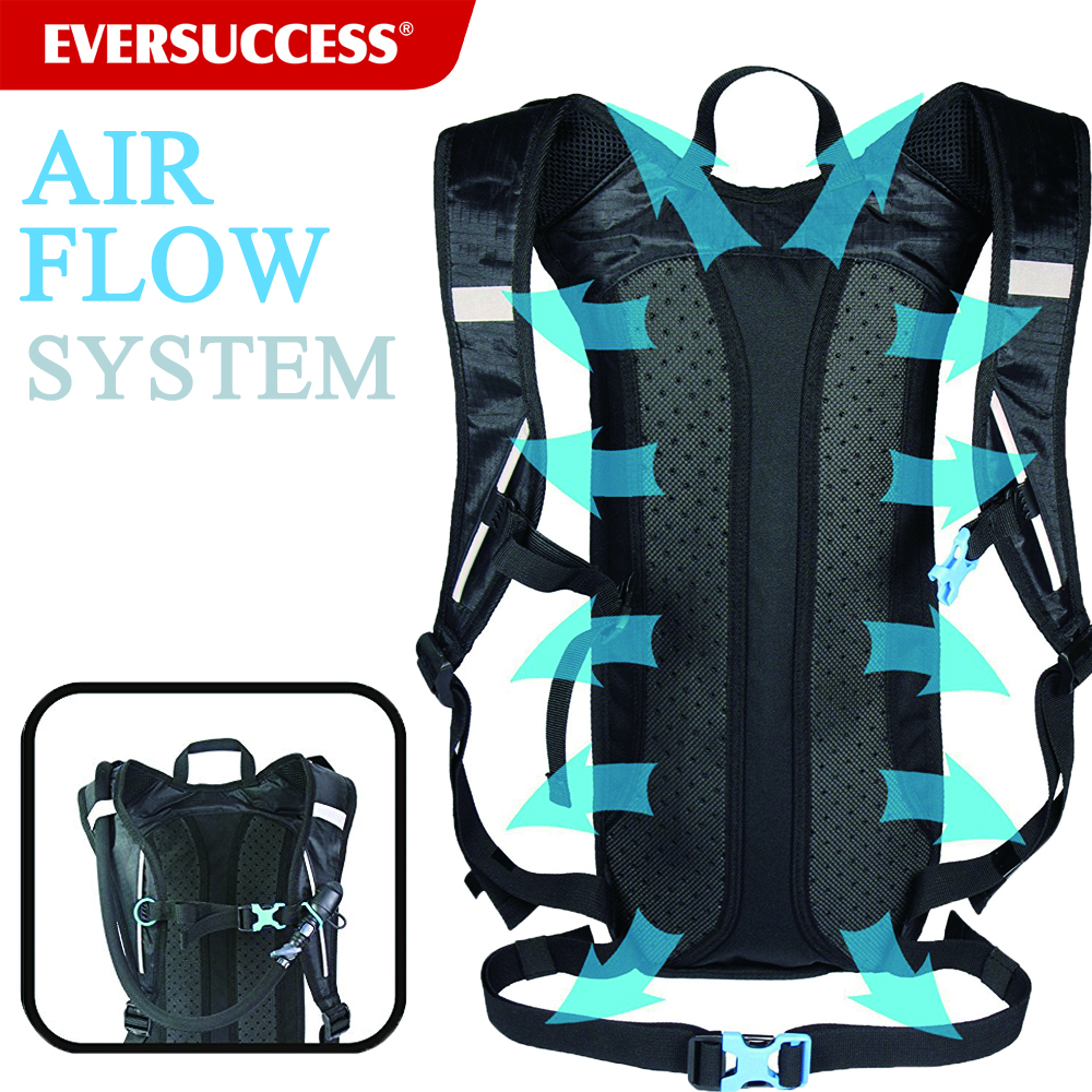 Lightweight Camel Pack Hydration Bladder Water Bag Cycling Hydration Bag Backpack with 2L Water Bladder