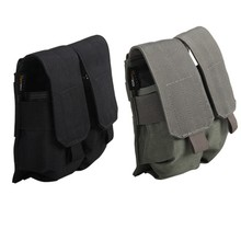 6-0064 Tactical Military Cordura Durable Accessory Kit Bags Double Multi-Purpose Cutting Tools Cigarettes Pouch