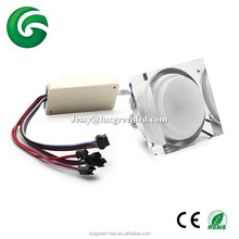 New popular 3x8W Acrylic RGBW RGBA RGBY 4IN1 led ceiling down light with 3 years warranty