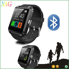 High quality competitive price of sport water resistant bluetooth smart watch mobile phone u8