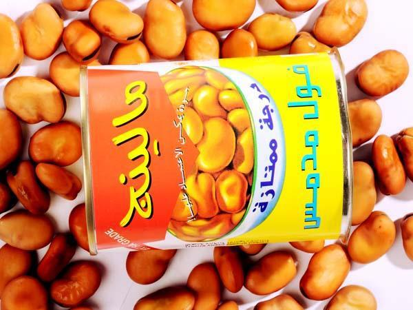 Cheap canned foul medames towards Mideast market