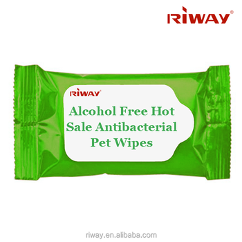 Competitive Price Widely Use Alcohol Free Hot Sale Antibacterial Pet Wipes