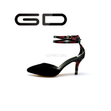 Fancy hot style mature women's sexy high pump shoes in 2015GD new arrival