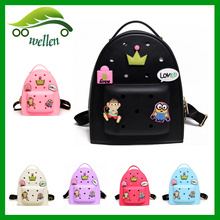 2016 Wholesale new design jelly custom silicone school <strong>backpack</strong>