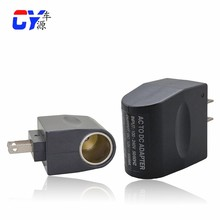car charger adapter 110V 220V AC to 12V DC Car Cigarette Lighter Charger 12v car adapter