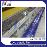 2015 hot sale transparency small roll mattress pvc plastic film Egypt