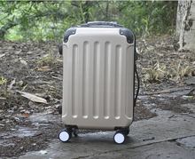 OEM design Alibaba supplier abs pc Travel luggage bset trolley suitcase