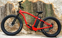 "electric mountain bike bycicle 48v 26"" non-folding powerful pedal assist"