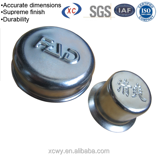 XCWY custom construction hardware stainless steel end cap