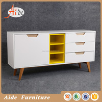 hot selling modern mdf bed sideboard with drawers
