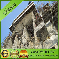 professional supply safety fence building safety net