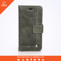 Hot selling genuine leather smart phone case