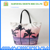 China factory customized women beach wholesale plain canvas tote bags