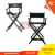 Canvas Folding Metal Chair makeup for salon styling chair