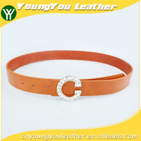 Wholesale Fashion High Quality PU Leather designer belts with Alloy Buckles in Yiwu