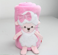 Christmas Baby Super Soft Coral Fleece Sheep Blanket