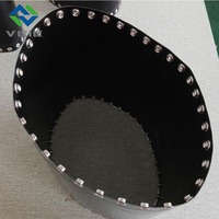 PTFE FUSING PRESS BELT BLACK ANTI STATIC no joint made in China heat resistant non stick high strength