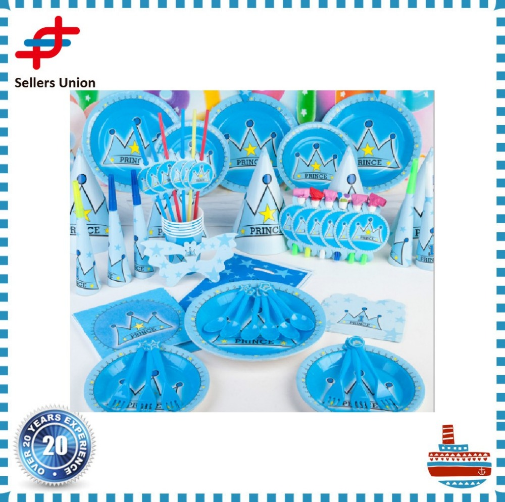 Birthday party Paper Tableware set for Kids party theme