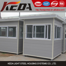 prefabricated security guard house / Booth / sentry box / kiosk / store