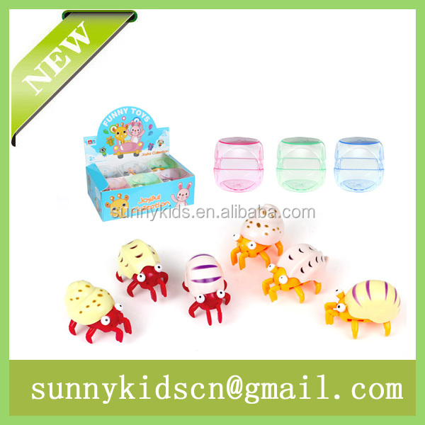 New wind up Hermit crab capsule toy