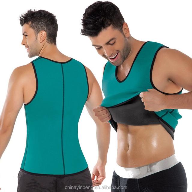 Men Shapewear Weight Loss Neoprene Sauna Tank Top Vest for Ultra more Sweat body shaper for men walmart