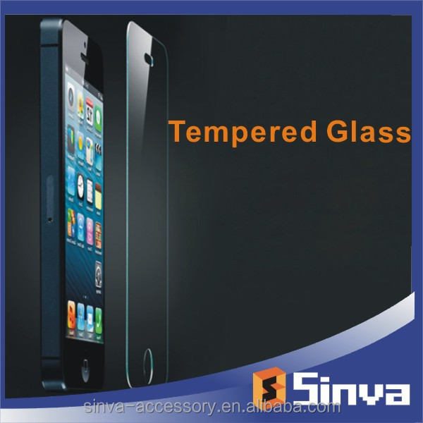 Colorful mirror function tempered glass screen protector for iphone 6 Factory