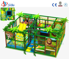 Kids Indoor Tree houses Playground size with soft tube for indoor games