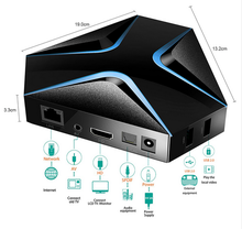 Magicsee Iron android 7.1 tv box s905x 2GB+8GB h.264 h.265 ott tv box 5.1 analog media player