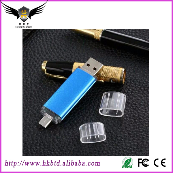 Bulk Cheap High Speed 1GB 2GB 4GB 8GB 16GB 32GB 64GB 128GB 256GB OTG usb Flash Drive,OTG usb for smart phone 2017 New Products