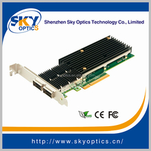 Fiber Optic Network Card 40G Dual Port PCIe Fiber NIC Card