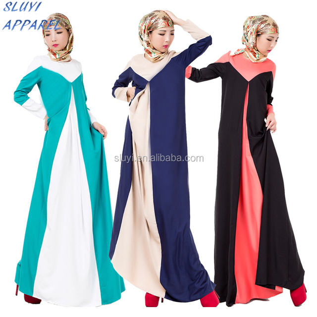 African Arabic blue muslim Bridesmaid Dresses Clothing factory designer one piece party wear Malaysia long gown dress