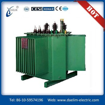 SZ10-M series 6.3kv 800kva Three phase Full sealed Amorphous Alloy Distribution Transformer